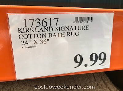 Costco 173617 - Deal for the Kirkland Luxury Spa Bath Rug at Costco