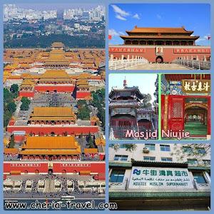 Forbidden City, Tiananmen Square, Niujie Mosque, Niujie Muslim Supermarket
