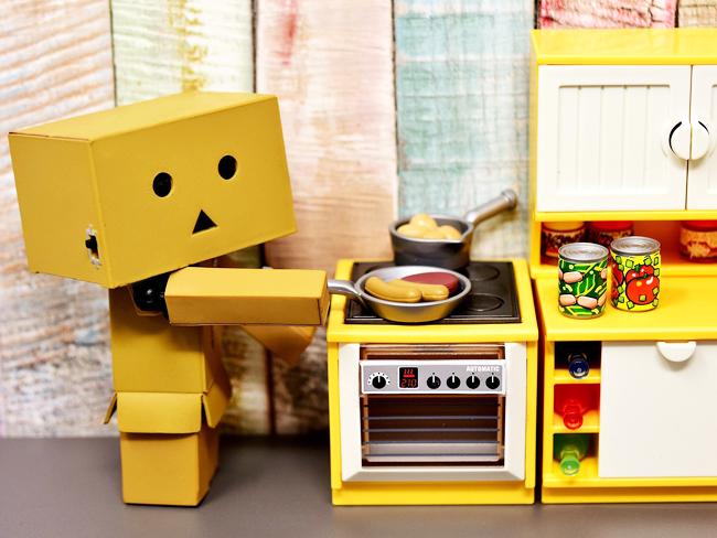 Mi robot de cocina prepara la comida hoy