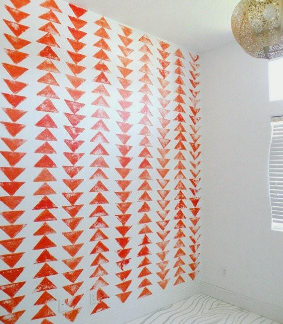 10 id es originales pour peindre son int rieur blog d co for Deco peinture geometrique