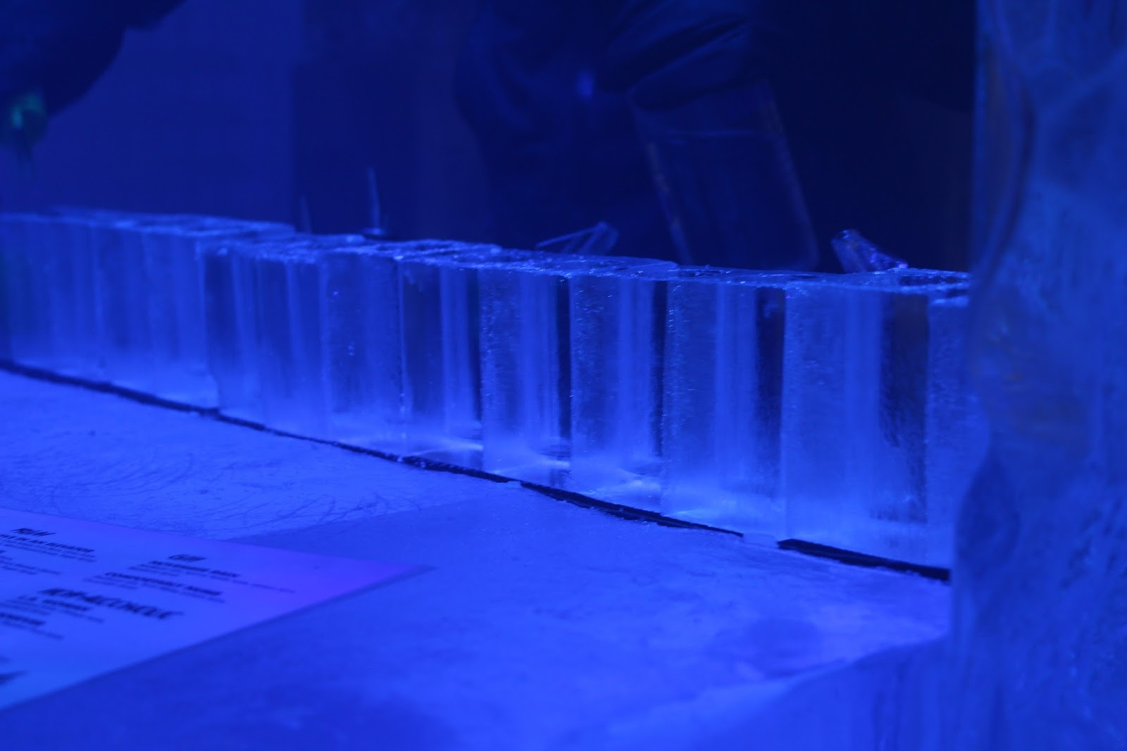 Icebar London cocktails