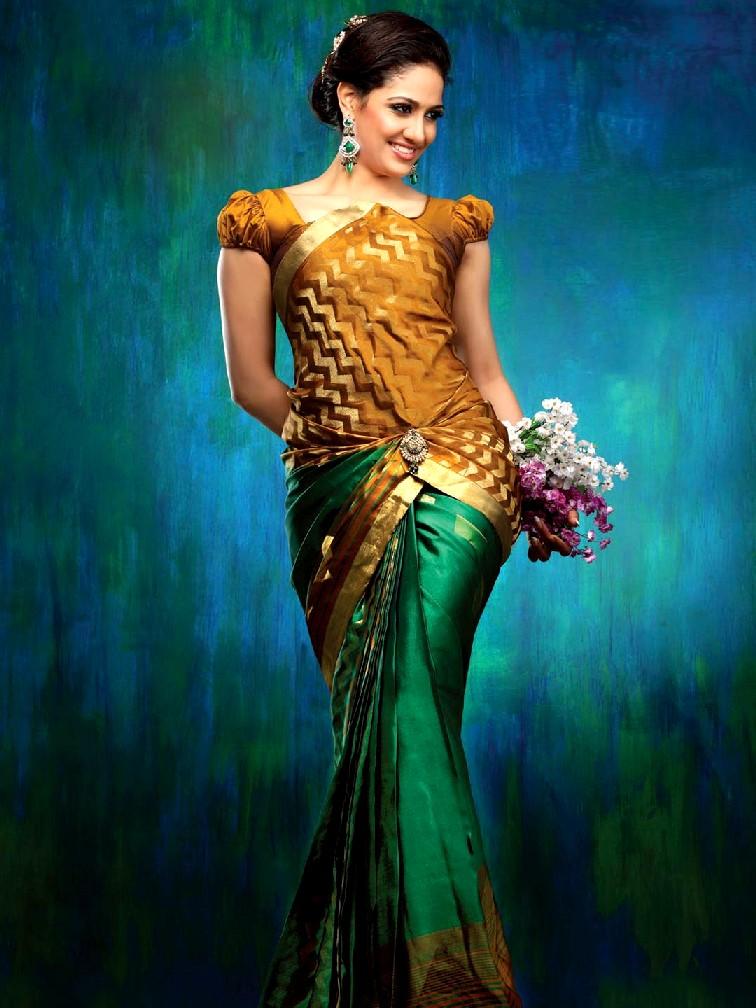 New Fashion Lay Latest Fashion Trend: Latest Kalyan Silk Saree