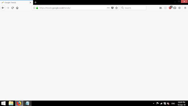 Google Trends Blank/Error Ketika Dibuka