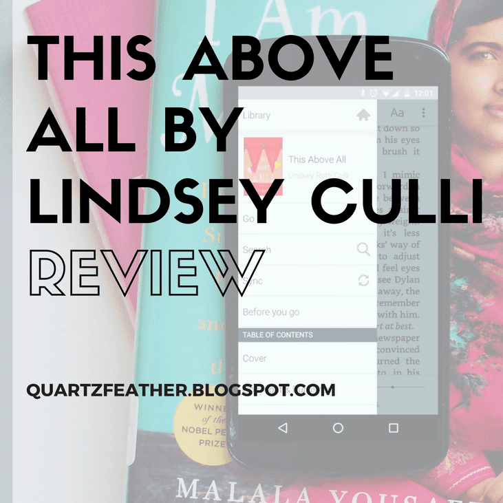 This Above All by Lindsey Culli