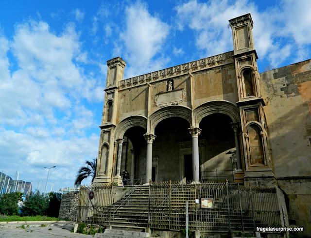 Palermo, Sicília - Igreja de Santa Maria della Catena