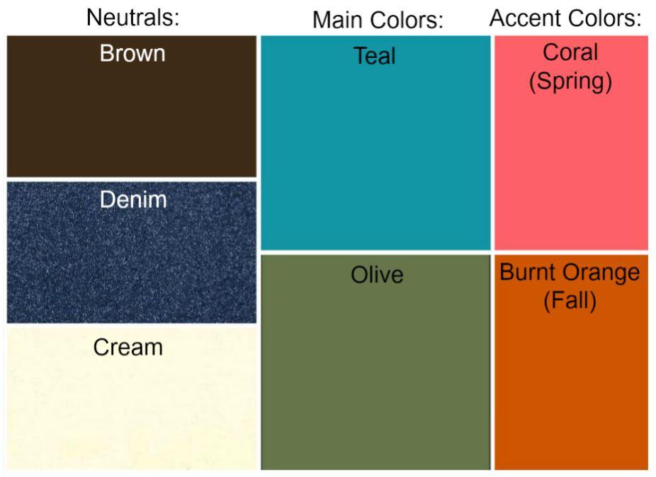 apackratsearchingforminimalism: Autumn Color Palette \