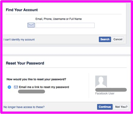 What to do when your facebook account has been hacked