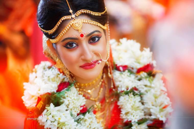 Amazing Bengali Bridal Makeup Looks For Round Face Makeup Vidalondon