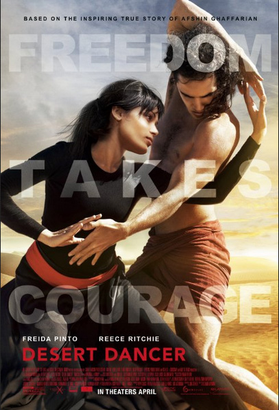 Review film bioskop terbaru: Desert Dancer (2014)