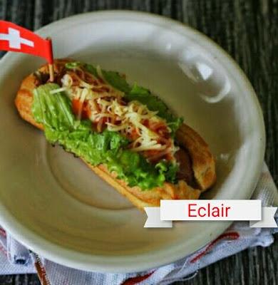 eclair, resep eclair, sausage, resep sausage,