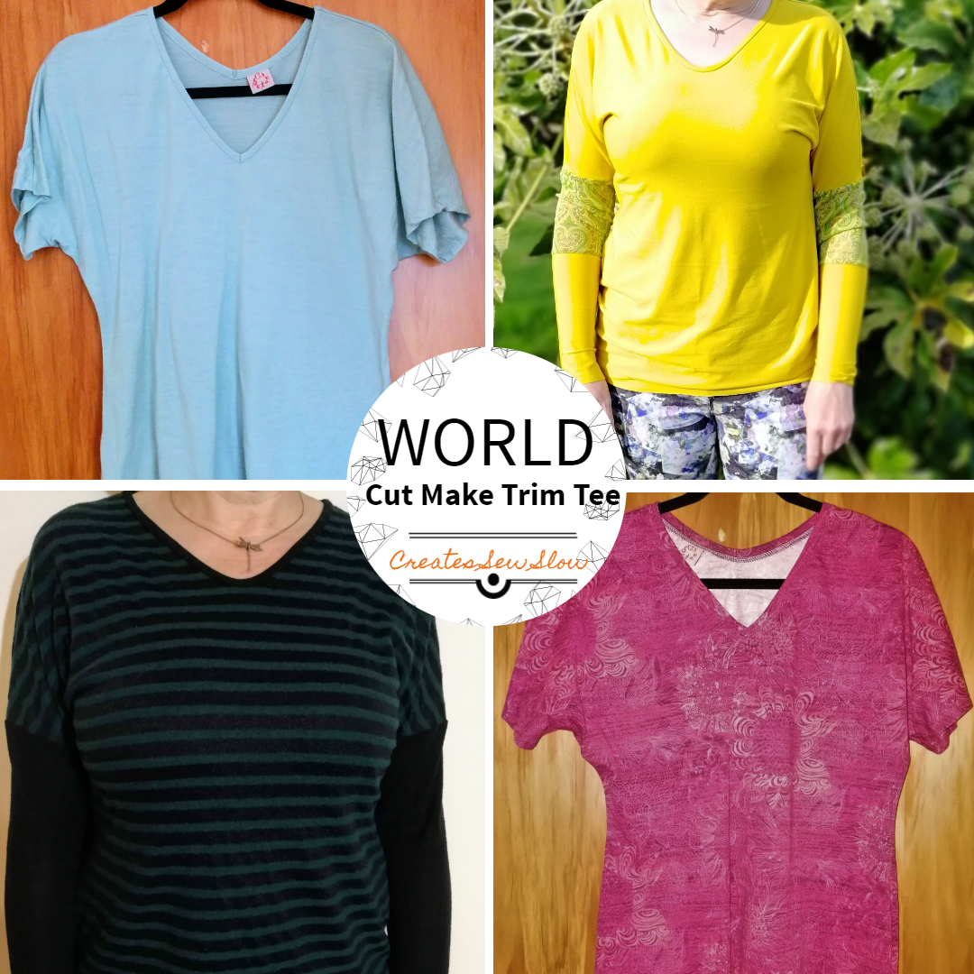 Creates Sew Slow: The Varied World Of The Cut Make Trim Tee