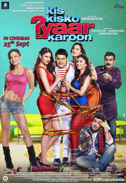 Kis Kisko Pyaar Karoon (2015) Movie Poster No. 2