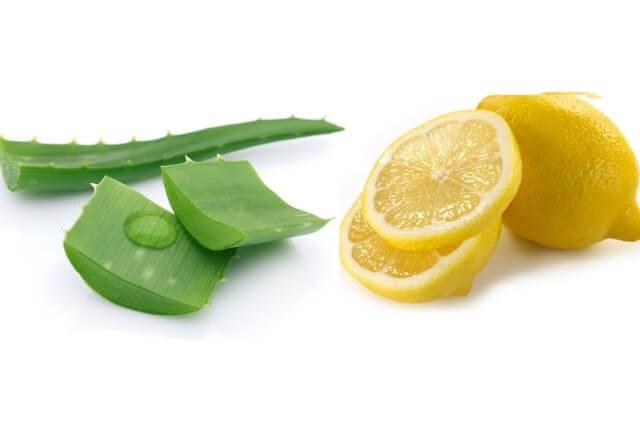 نتيجة بحث الصور عن خلطة الليمون وهلام الصبار