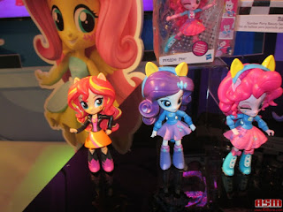 Equestria Girls Minis at the NY Toy Fair 2016