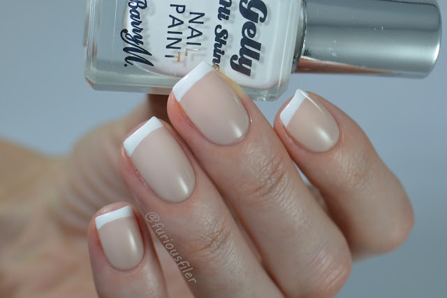 french manicure nails classic wedding delicate work appropriate