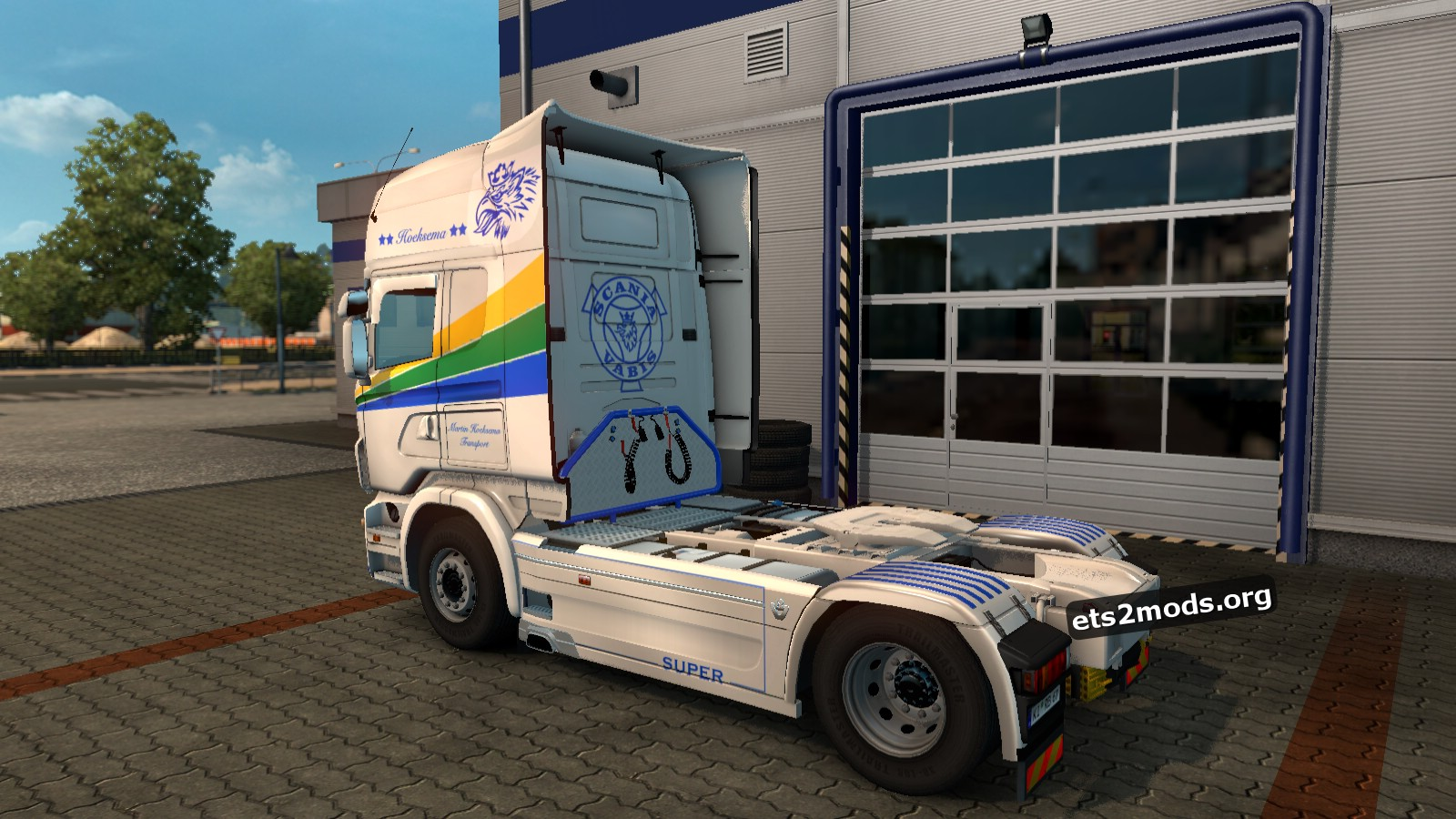 Martijn Hoeksema Transport Skin for Scania RJL