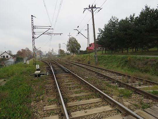 """Stacja kolejowa """"Raba Wyżna""""."""