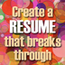 creating an effective resume,