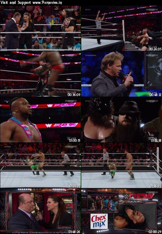 WWE Monday Night Raw 11 Jan 2016 HDTV 480p 500MB