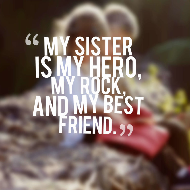 quotes for my sister