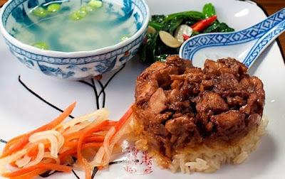 Gambar Resep Nasi Tim Ayam Paling Enak