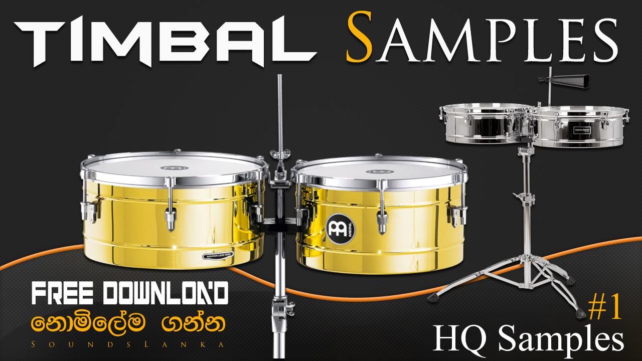 Timbale Samples (HQ) Free Download - SoundsLanka - Free