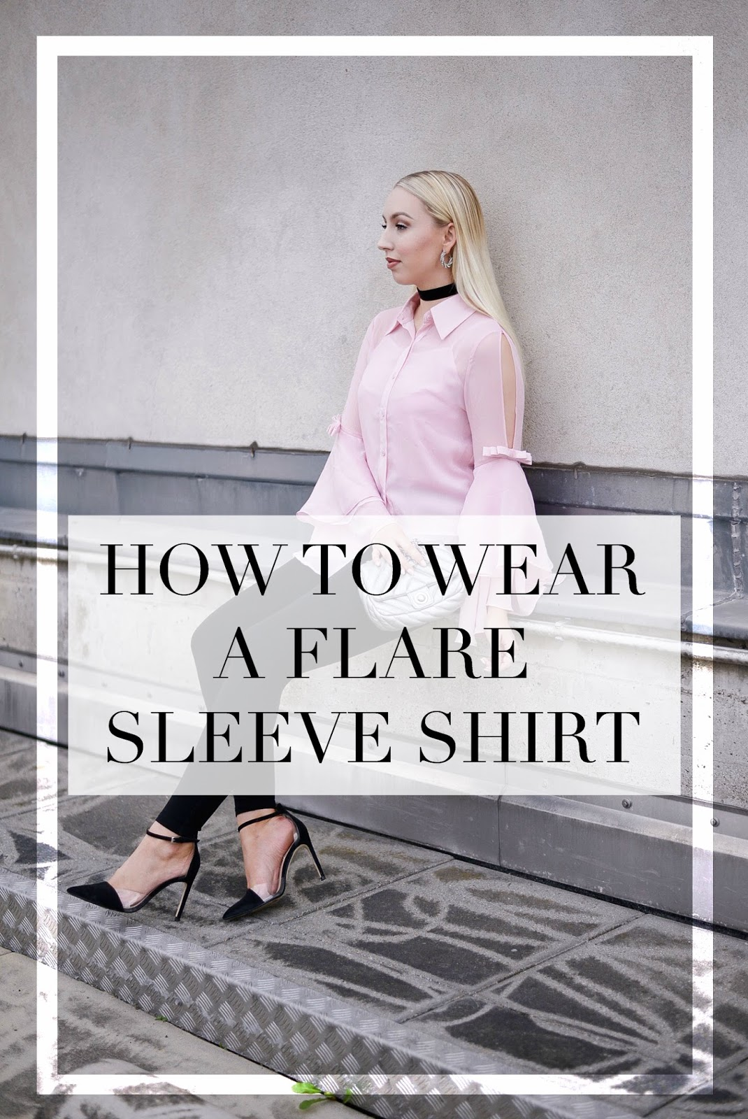 flare sleeve shirt