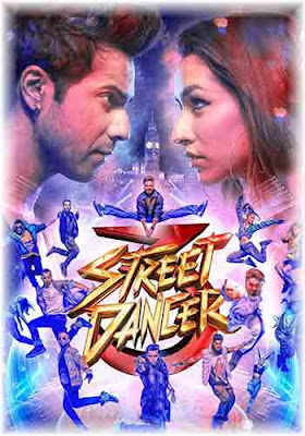Street Dancer 3D 2020 Hindi 480p HQ DVDScr Poster