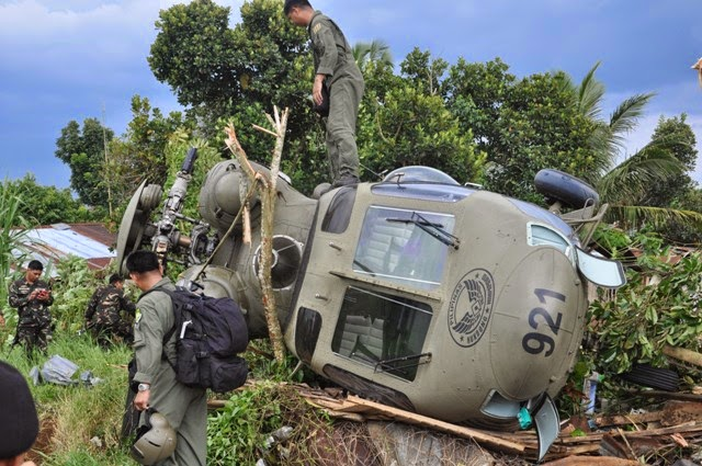 MINDANAO PAGADIAN FRONTLINE: No casualty of Philippine Air