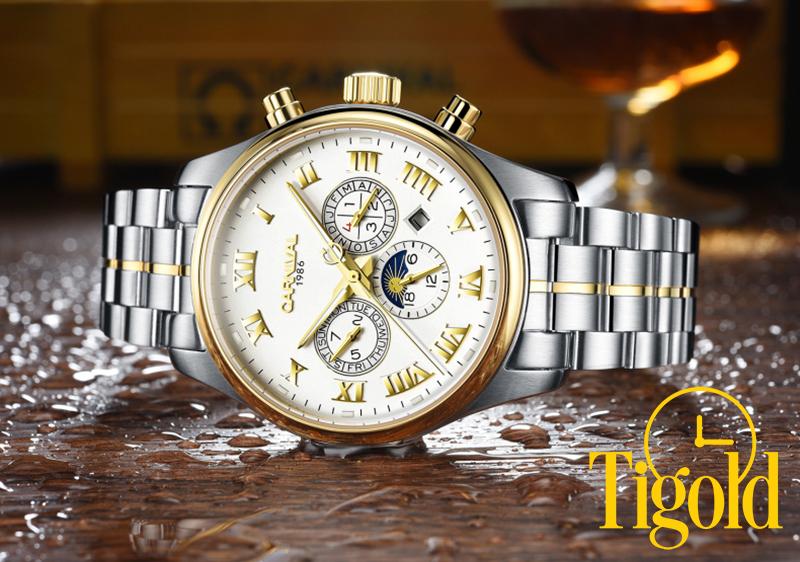 nhận biết đồng hồ Carnival chính hãng thật và giả