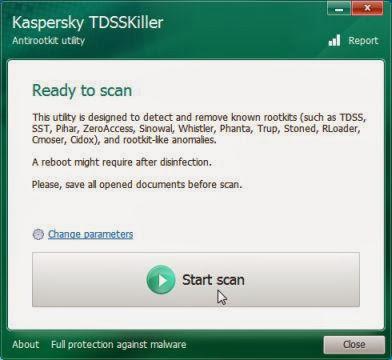 Kaspersky TDSSKiller ready