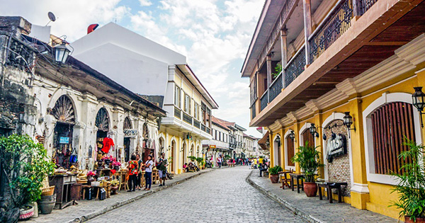 Vigan, Ilocos Sur in Philippines