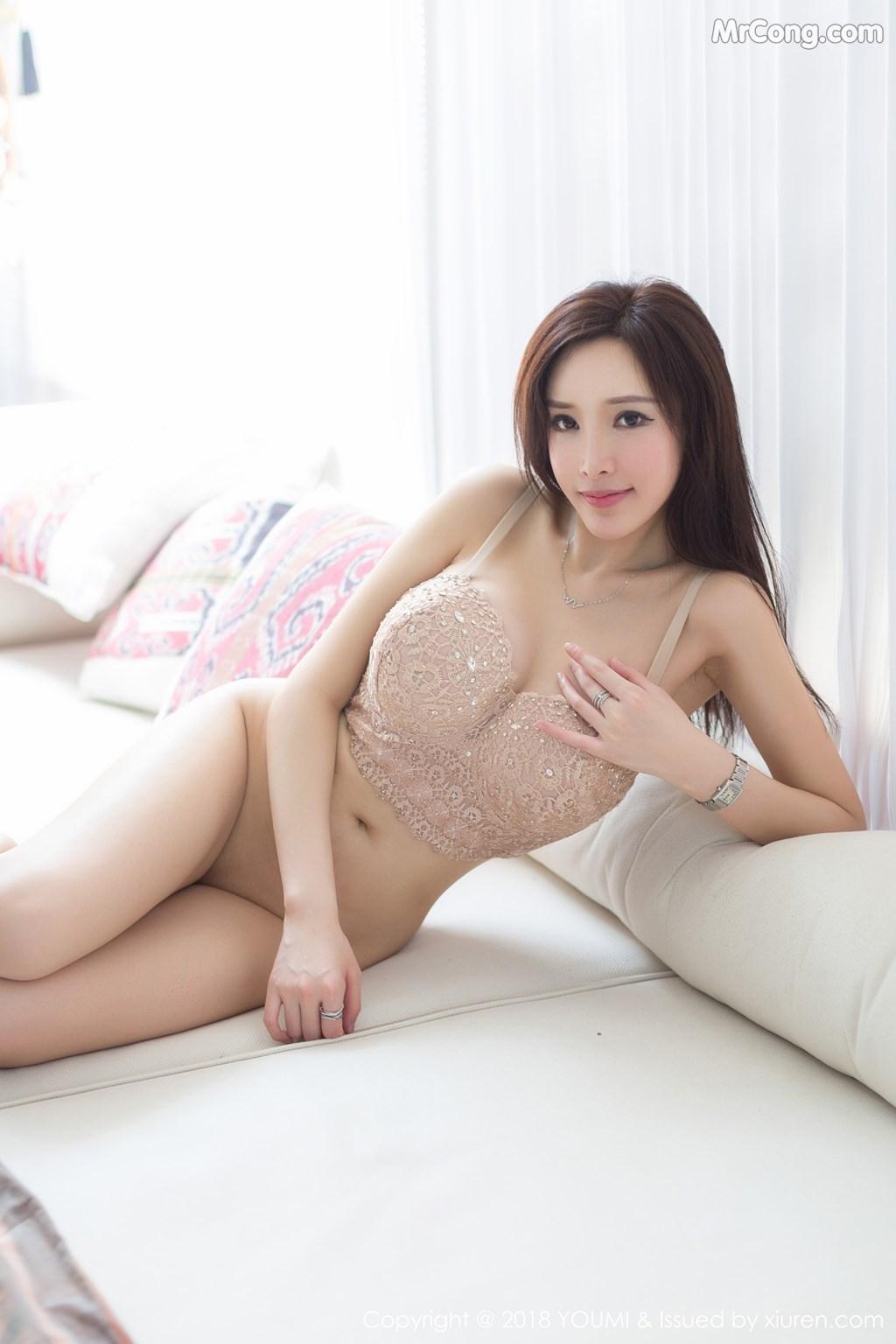 Image YouMi-Vol.197-Tu-Fei-Yuan-Ai-Cuo-Qiong-MrCong.com-008 in post YouMi Vol.197: Người mẫu 奶瓶土肥圆 (48 ảnh)