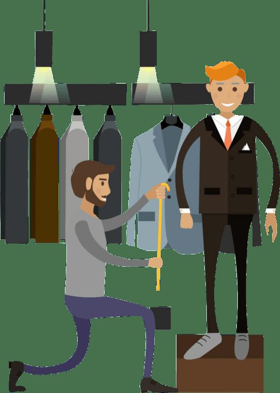 bisnis clothing sizing