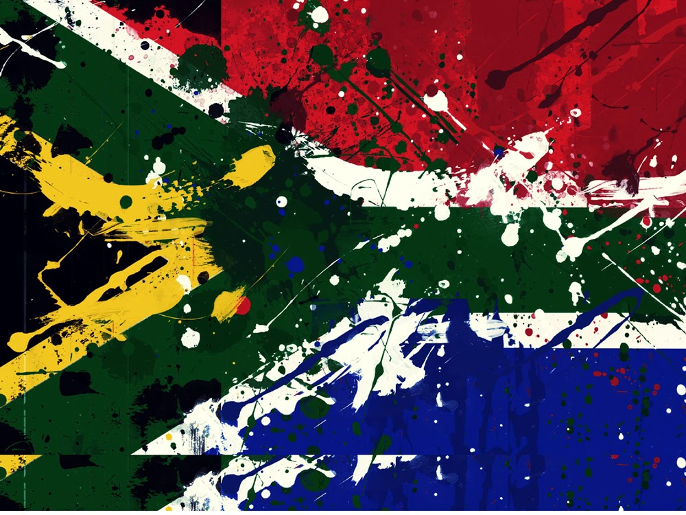 Broken Screen Wallpaper 3d Graafix Flag Of South Africa