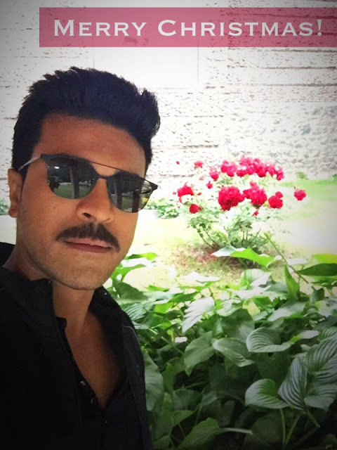 Ramcharan Wishing Merry Christmas