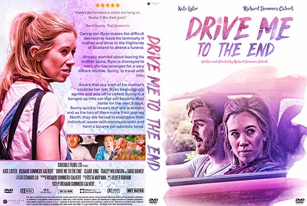 Drive Me to the End (2020) DVD Cover