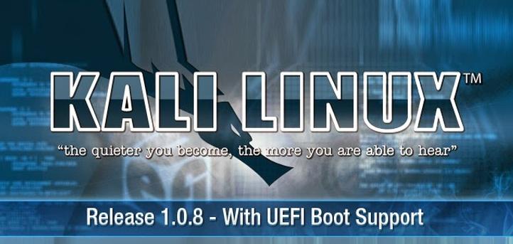 Kali Linux 1.0.8