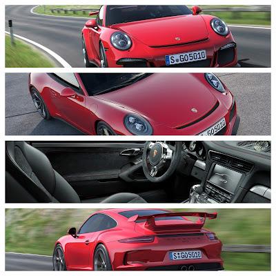 New Porsche 911 GT3 with Active Rear Wheel Steering