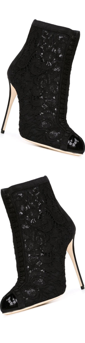 DOLCE & GABBANA 'Bette' booties