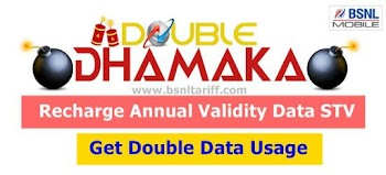 BSNL Double Data Usage Offer for Prepaid users for Dussehra 2016
