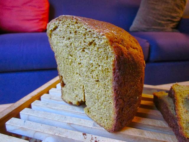 Pumpkin Sour Cream Yeast Bread (Bread Machine)