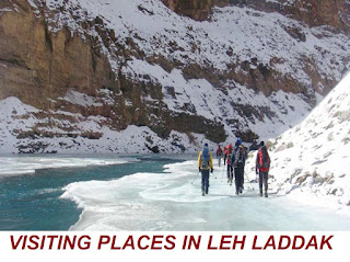 VISITING PLACES IN LEH Laddak