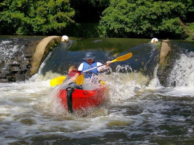 Kayaking in Normandy