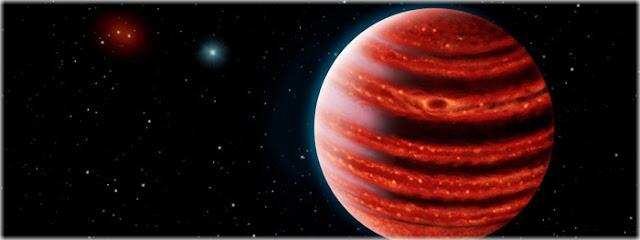 planeta extrassolar encontrado através de telescópios