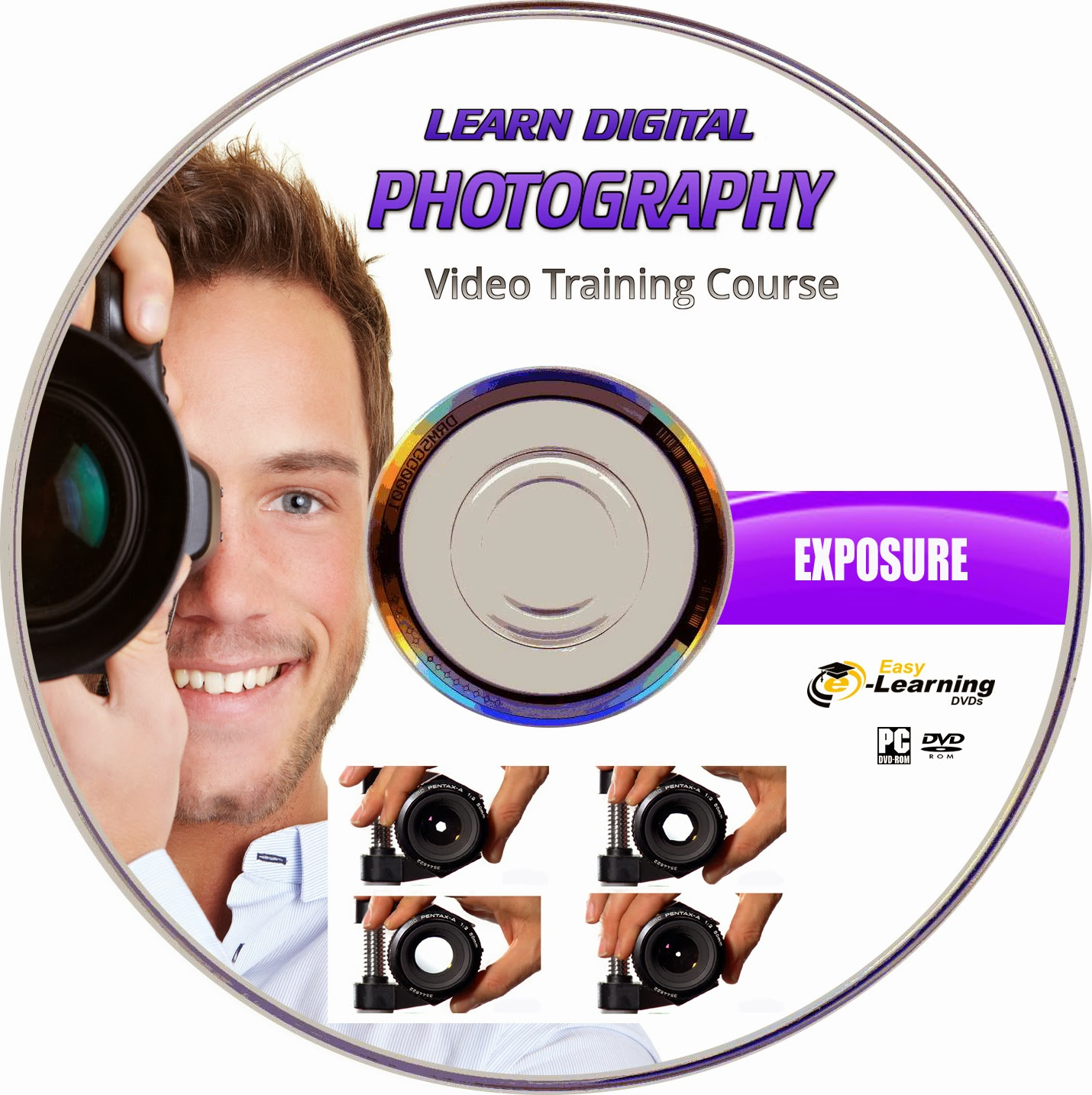 Studio Lighting Course: Easy Learning DVDs: LEARN DIGITAL PHOTOGRAPHY COMPLETE