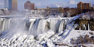Niagara Fall frozen Beauty in 2018