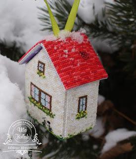haftowany domek