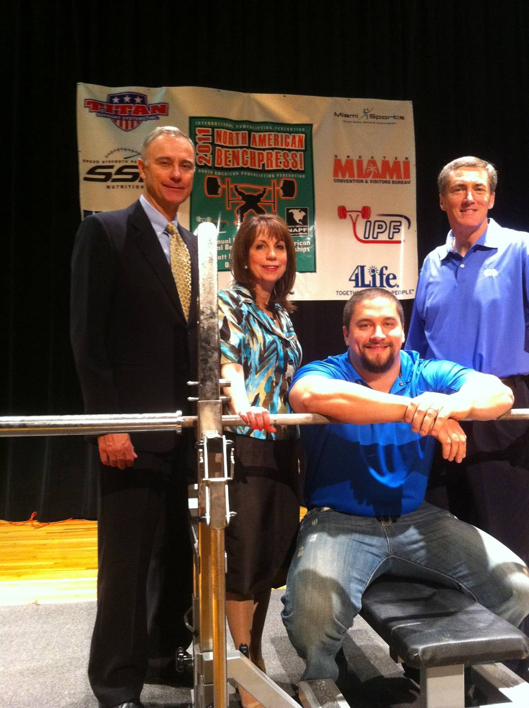 foto Team 4Life Member Competes in Arnold Classic