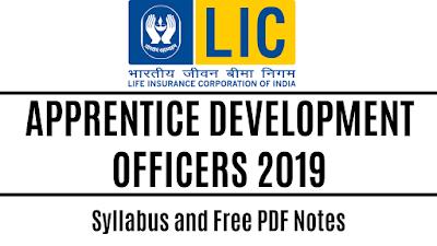 LIC ADO Syllabus and Study Material